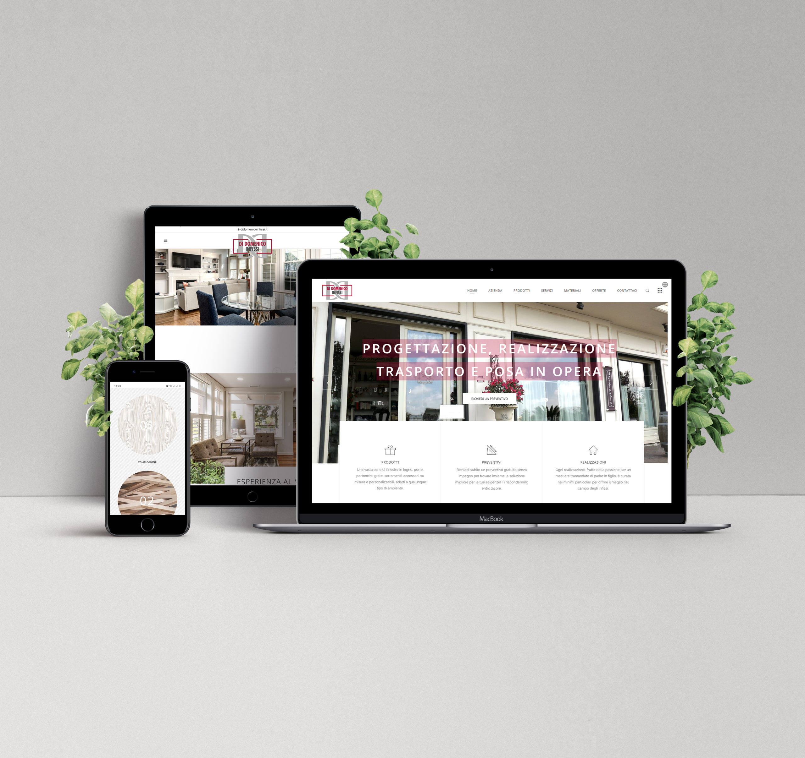 Web-design-showroom-infissi-Roma