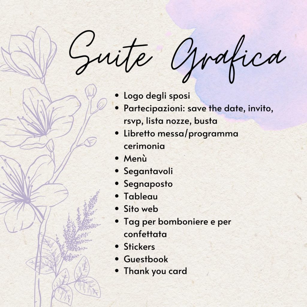 Suite Grafica per Matrimoni