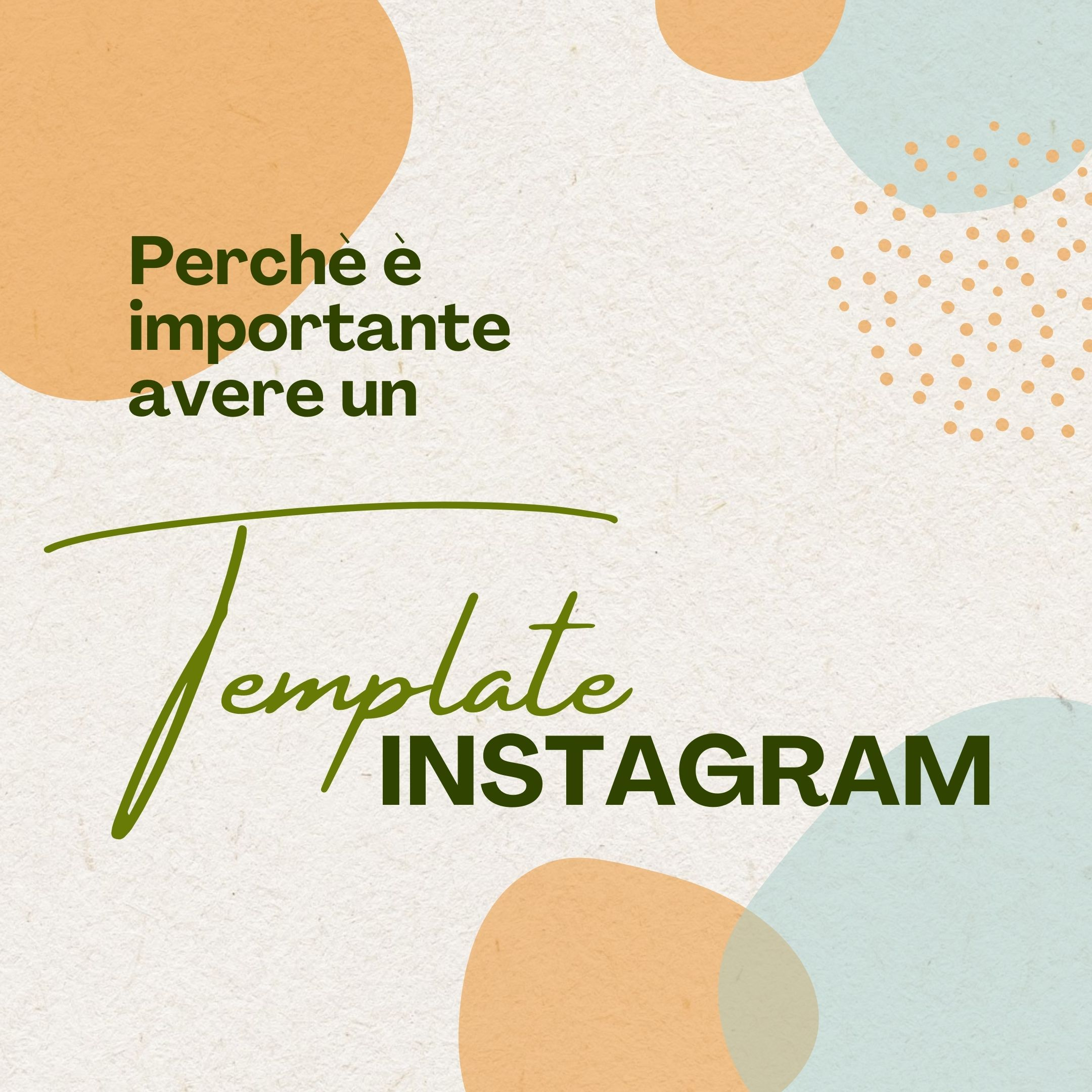Template Instagram